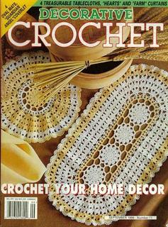Crochet With Heart Crochet Magazine April 1999 ~ 21 crochet patterns