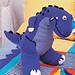T-Rex Toy pattern