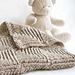 Mitered Squares Baby Blanket pattern