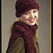 Cuddle Up Ribbed Scarf & Brimmed Hat (Hat) pattern