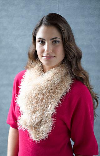 Lion Brand Yarn 320-147 Fun Fur Yarn Grape