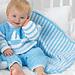 Striped Blanket #4107 pattern