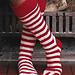 Santa's Toe Socks pattern