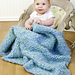 Diagonal Baby Blanket pattern