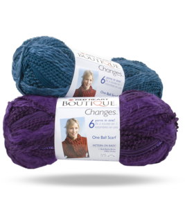 10 Skeins Red Heart Boutique Changes Amethyst Y1