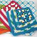 Granny Corner Dishcloth pattern