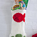 Cat Paws Christmas Stocking pattern