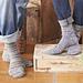 Toe Up Socks (crochet) pattern