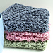 Bobbled Bubbly Dishcloth pattern