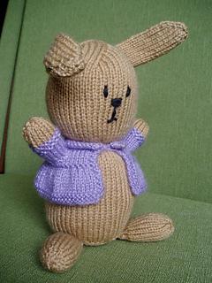 bunny with coat 011