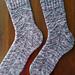 Speckled Space Socks pattern