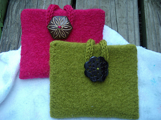 Felted Accessory Purses