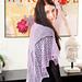 Arrowhead shawl pattern