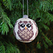 Christmas ornament Owl/Julkula Uggla pattern