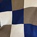Modern Patchwork Baby Blanket pattern