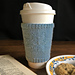 Snowflake Mug Cozy pattern