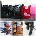 Charming Cherry Blossom Boot Cuffs pattern