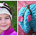 Charming Cherry Blossom Slouchy Hat pattern