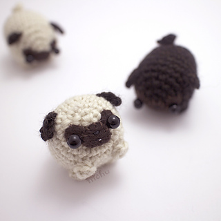 There's nothing cuter than a baby pug... - Amigurumi Today - Free ... | 320x320