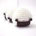 onigiri rice ball amigurumi pattern