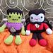 Frankie & Draco Frankenstein's Monster & Dracula pattern