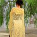 Ju Hua, a circle shawl pattern
