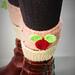 cupcake boot topper pattern