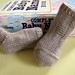 Garter Stripe Baby Socks pattern