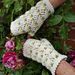 Rose Garden Mitts pattern