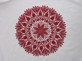 Cluster Stitch Doily