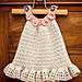 Halter Ruffle Dress pattern