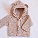 Bear Hooded Cardigan pattern