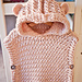 Hooded Poncho - Pullover pattern