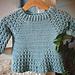Lace Sleeve Sweater pattern