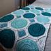 Lisbon Tiles Blanket pattern