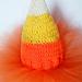 Candy Corn Baby Hat pattern