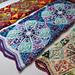 The Kaleidoscope Blanket pattern