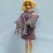 Barbie's Sleeveless Dress and Stole pattern