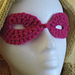Secret Identity Mask in Crochet pattern