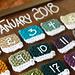 Pantone Swatch Calendar pattern