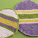 Easter Egg Dishcloth pattern