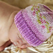 Not-All-Purple Newborn Hat pattern