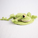 Beanbag frogs and lily pads pattern