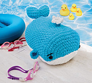 Wally Whale from Cuddly Crochet Critters