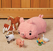 Penny Pig from Cuddly Crochet Critters