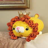Lucas Lion from Cuddly Crochet Critters