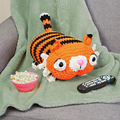 Taylor Tiger from Cuddly Crochet Critters