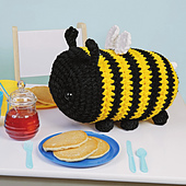 Bella Bumblebee from Cuddly Crochet Critters
