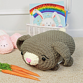 Beatrice Bunny from Cuddly Crochet Critters