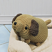 Danny Dog from Cuddly Crochet Critters